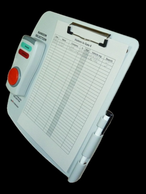 Spot-Checker portable random check selector